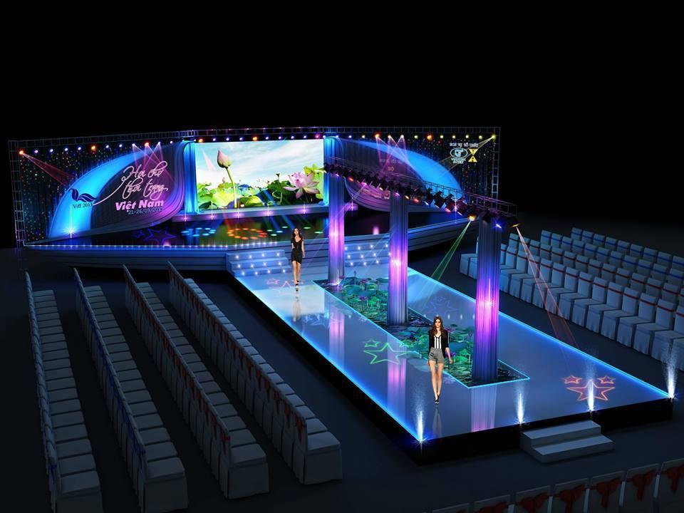 Thiết kế sân khấu sự kiện thời trang